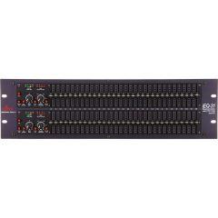 Ecualizador DBX  Limitador gráfico de 31 entradas DBXIEQ-31