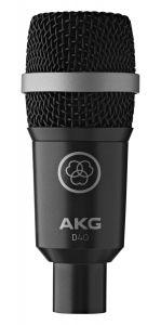 Microfono AKG Micrófono dinámico profesional D-40