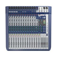 Consola analoga SOUNDCRAFT Consola de Sonido analógica 16 canales SIGNATURE 16