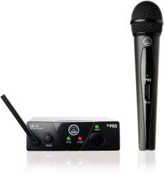 Micrófono AKG Sistema Inalámbrico micrófono vocal WMS40MINIHT US25A