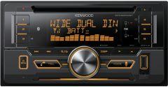 Radios para autos KENWOOD Receptor de CD 2-DIN con Bluetooth DPX-522WBT