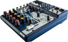 Consola análoga SOUNDCRAFT Consola de Sonido analógica con efectos NOTEPAD-8FX