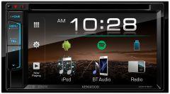 """Reproductor multimedia para auto KENWOOD Receptor de DVD 6.2"""" con Bluetooth DDX-418BT"""