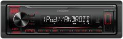 Radios para autos KENWOOD Receptor de medios digitales KMM-122