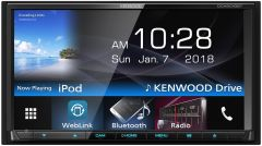 "Reproductor multimedia para auto KENWOOD  6.9"" con Bluetooth + WebLink DDX-6018BT"
