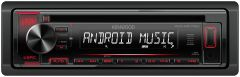 Radios para autos KENWOOD Receptor de CD con bluetooth KDC-MP172U