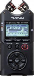 Grabación de audio TASCAM  Grabador de audio Estéreo / USB Portátil DR-40X