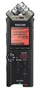 Grabación de audio TASCAM Grabador de audio Estéreo de mano / con Wi-Fi Portátil DR-22WL