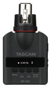 Grabación de audio TASCAM Mini Grabadora para Micrófono portátil DR-10X