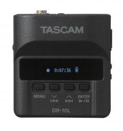 Grabación de audio TASCAM Mini grabadora con micrófono pechero portátil DR-10L