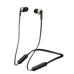 Audífonos JVC Audífonos IN EAR Sport Bluetooth - BLACK & GOLD HA-FX65BN-N