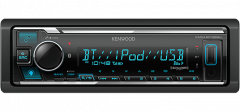 Radios para autos KENWOOD Receptor de medios digitales con Bluetooth KMM-BT328