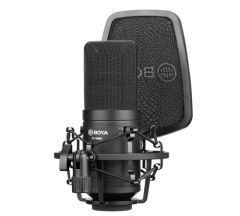 Micrófono BOYA Micrófono de Condensador BY-M800