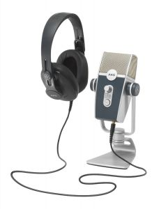 Kit de Producción AKG PODCASTER ESSENTIALS Micrófono + Audífono